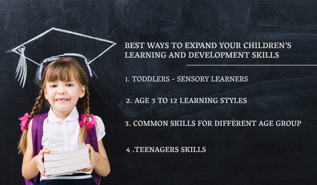 how to enhance kids skill
